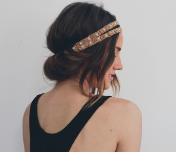 Headbands are the perfect accessory for summer hairstyles.