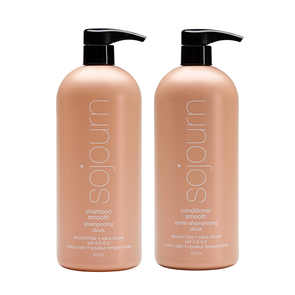SMOOTH SHAMPOO CONDITIONER LITER DUO